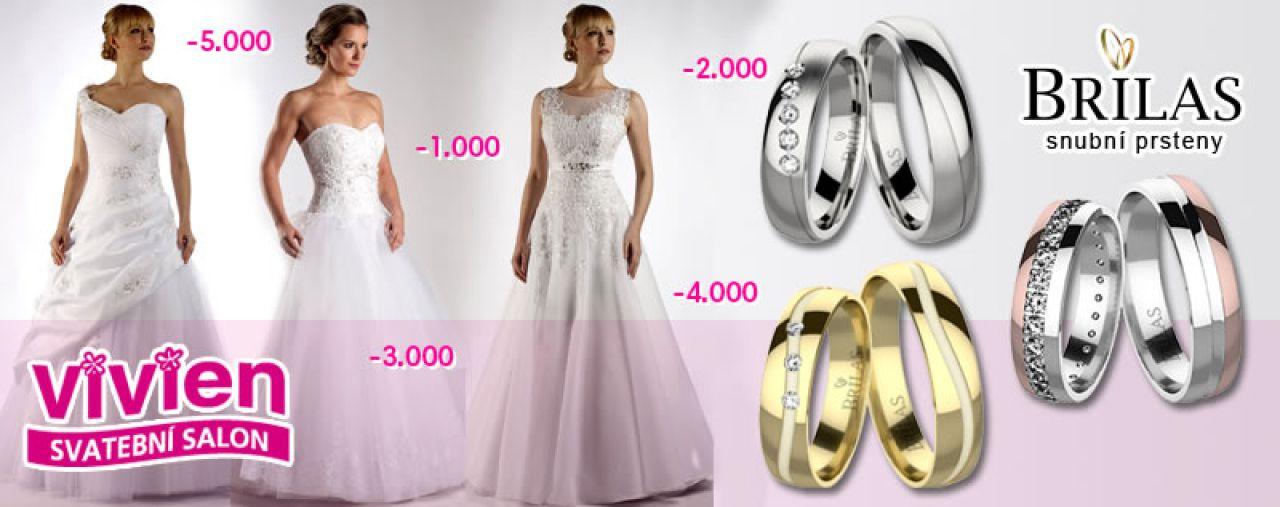 Rozdáváme slevy na šaty a prsteny